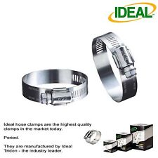 """IDEAL Box of 10 Tridon Hose Clamps Size #10 / 13 - 27mm 1/2 - 1-1/16"""""""