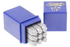 Schlagstempel Schlagzahlen 6 mm DIN 1451 Einschlagzahlen Punze Punziereisen BGS