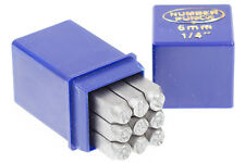 Punch Números para imprimir 6 mm DIN 1451 Efectos de pago Punze