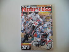 MOTOCROSS 9/2001 HONDA CRF 450 R/KAWASAKI KX 125 250/KTM EXC 250/VOR EN 400 530