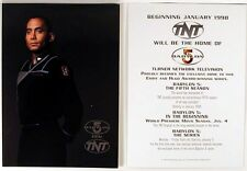 "Babylon 5- ""Dr Franklin"" Tnt Promo Postcard- New!"
