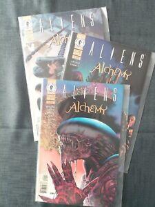 Aliens: Alchemy #1-3 (Dark Horse Comics)