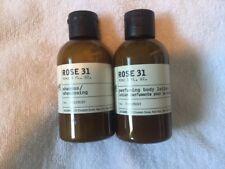 $36 New 2 JUMBO 3 oz Le Labo Rose Body Lotion and shampoo FAIRMONT made MAY 2019