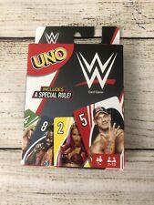 UNO WWE Card Game Wrestling John Cena Mattel Games Playing Cards