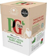 PG Tips perfecto con libre de lácteos Pirámide Bolsitas De Té (3 paquetes de 70 bolsas de té 203g)