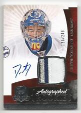 10-11 Dustin Tokarski The Cup Auto Rookie Card RC #147 Jersey Patch 123/249