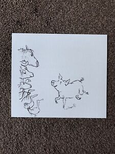Quentin Blake Lithograph / Print from First Folio Edition of Animal Farm - 14/22