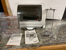 GEORGE FOREMAN! GEORGE JR. ROTISSERIE Oven GR82 Countertop Cooker W/ Manual