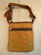Nepal - shoulder bag handmade synthetic suede - bandolera ante sintético
