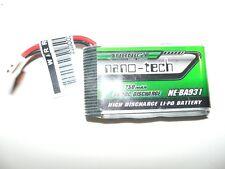 Turnigy Battery Lipo Nano Tech 750 MAH 1S 35-70 C tuningakku X200 Solo Pro 180