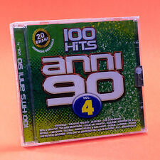 100 HITS ANNI 90 CD VOLUME 4 nuovo
