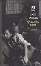 Don Delillo - Great Jones Street - Babel  2014 - Tb état