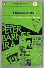 FAMOUS TRIALS 6~Vintage Penguin PB #1775~Haigh,Thurtell & Hunt etc~UK,1962