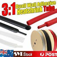 3:1 Dual Wall Heat Shrink Tubing Glue Line Heatshrink Wire Sleeving Insulation