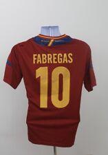 Cesc Fabregas #10 Spain Adidas Home Football Shirt Jersey 2011-2012 (M)