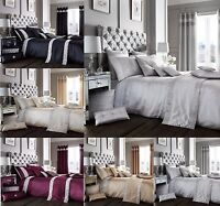 NEW  DESIGN( OXY ) DIAMANTE  DUVET COVER  SET AND OPTIONAL ACCESSORIES