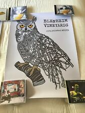 Dave Matthews Band Blenheim Vineyards Painted White 2016 Poster New Damage