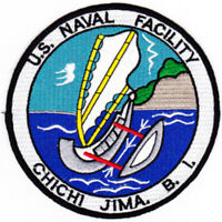 Naval Facility Chichi Jima Bonin Islands Patch