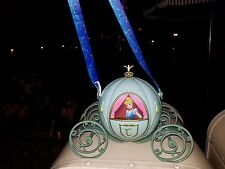 DISNEY PRINCESS CINDERELLA CARRIAGE SHAPED BUCKET~PURSE~CONTAINER W/ STRAP~NEW~