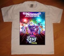 My Little Pony Movie 2017 Personalized Birthday Party Favor Gift T-Shirt - NEW