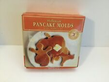 Williams-Sonoma Halloween Pancake Molds Set Of 3 (Pumpkin Ghost Cat) NEW!