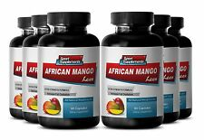 Immune System Booster Capsules - African Mango Extract 1200mg - Maqui Berry 6B