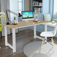 """55"""" Wood Computer Desk PC Laptop Table Study Workstation Home Office Furniture"""