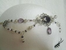 Amethyst Circlet wiccan pagan wicca witch goddess medieval renaissance victorian