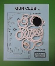 1953 Williams Gun Club pinball rubber ring kit