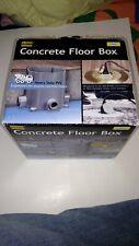 Hubbell-Raco Concrete Floor Box Kit