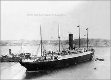 Photo: Rare View: RMS Carpathia In Greek Port of Piraeus, Autumn, 1914