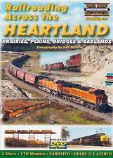 Railroading Across the Heartland 2 Disc DVD BNSF CP ex-SOO UP Alcos A&M