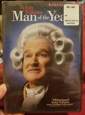 MAN OF THE YEAR (DVD, Widescreen) New / Factory Sealed / Free Shipping