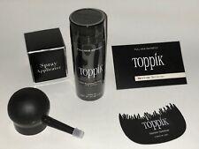 Toppik Hair Building & Thickening Product - Black, Dark Brown, Grey