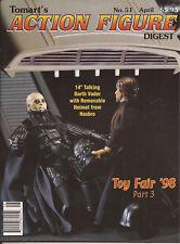 TOMART'S ACTION FIGURE Digest #51 Apr. 1998 Toy Fair '98 Star Wars Star Trek WWF