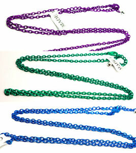 """Chain Necklace Lobster Clasp Trace Chains, Choose Color 30"""" UK Post"""