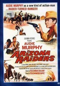 Arizona Raiders DVD Audie Murphy New Sealed Australia All Regions