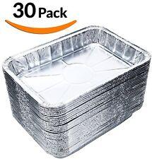 DCS Deals Aluminum Foil Weber Grill Compatible Grease Drip Pans (30-Pack) –