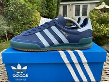 Adidas Valencia Blue Leather Size 8 80s Football Casuals 2016 Jeans City Series
