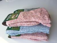 3 Pairs Women Luxury High Quality Chunky Thick Thermal Fresh Fell Wool Socks FVB
