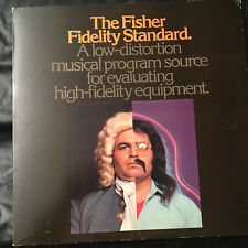 Avery Fisher Stereo Quad 33 RPM Lp Vinyl Record TEST DISC Fisher Standard