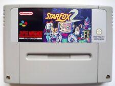 Star Fox 2 Starfox Starwing for Super Nintendo SNES PAL English !