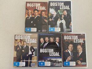 Boston Legal - DVD TV Series - Season 1-5 - Complete Set - Region 4