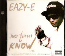 EAZY-E - Just Tah Let U Know (CD Single 1995) 3 Tracks MC REN
