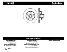 Disc Brake Rotor-C-TEK Standard -Preferred Front Centric 121.62012