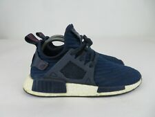 Adidas NMD XR1 Boost PK Navy Blue White Athletic Shoes Men Size 9 US BA7215