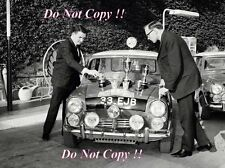 Paddy Hopkirk Mini Cooper S 33 EJB Winner Monte Carlo Rally 1964 Photograph 9