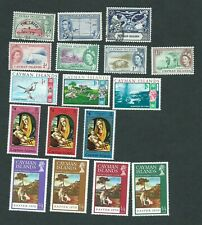 Cayman Island Postage stamps collection of Assorted 1938-70.Mint/Used