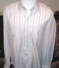 $795 ISAIA Men Italy Made Dress Shirt 17 43