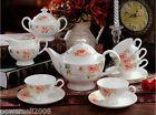 European Fashion Modern Beautiful Ceramics Coffee Cup/Tea Pot 15 Pieces Set K-6
